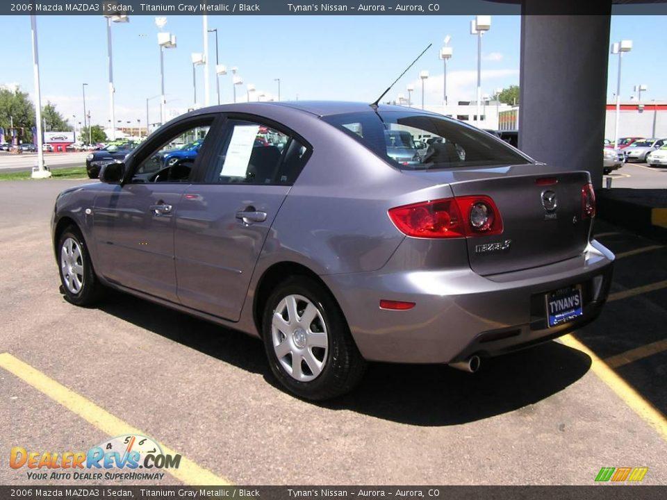 2006 Mazda Mazda3 I Sedan Titanium Gray Metallic Black