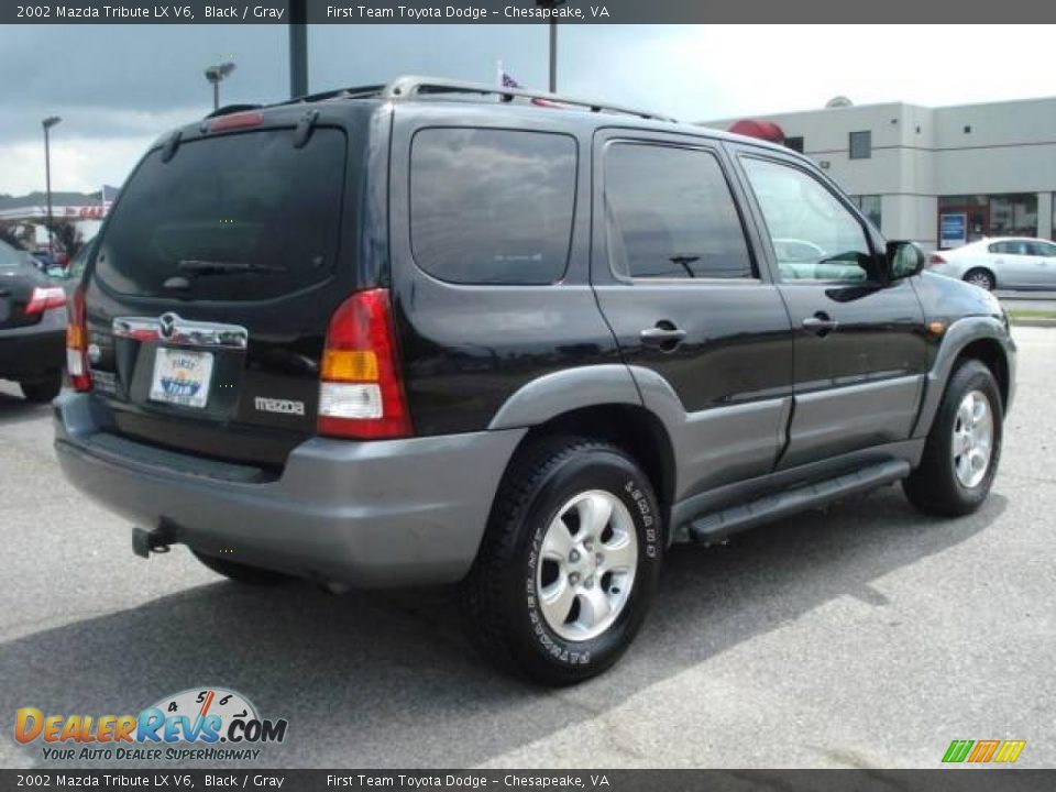 2002 mazda tribute lx v6 black gray photo 5. Black Bedroom Furniture Sets. Home Design Ideas