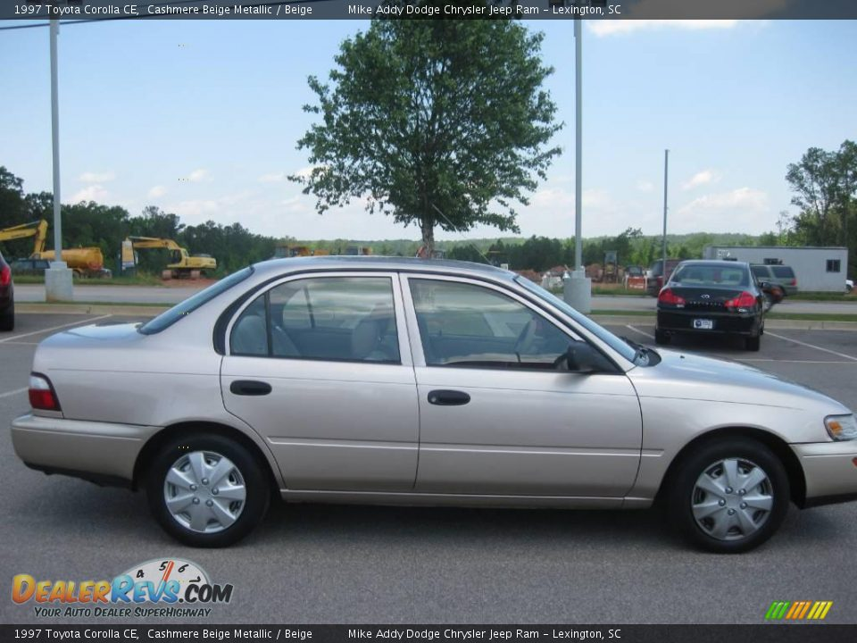 1997 Toyota Corolla Ce Cashmere Beige Metallic Beige