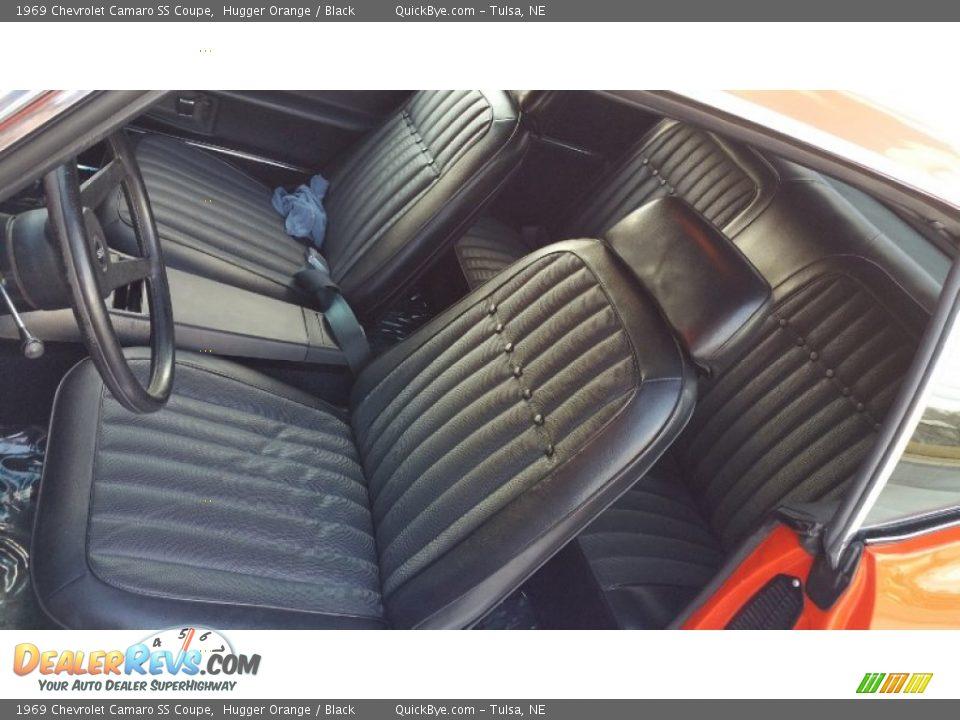 1969 Chevrolet Camaro SS Coupe Hugger Orange / Black Photo #3