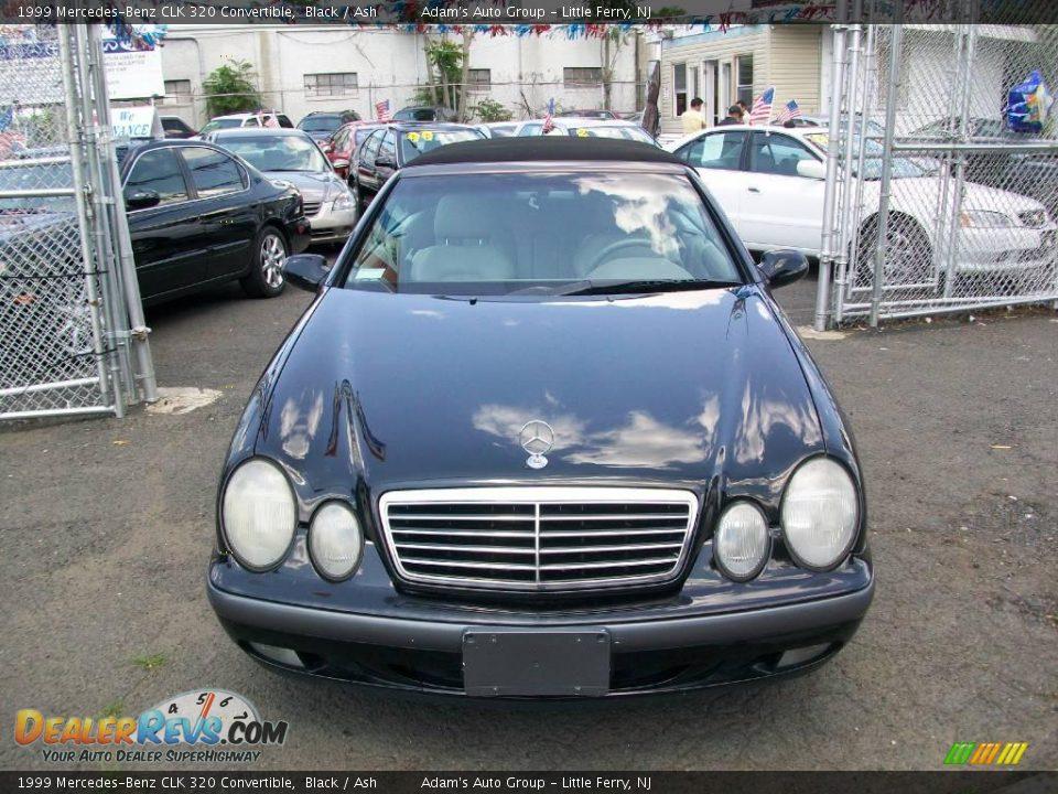 1999 Mercedes Benz Clk 320 Convertible Black Ash Photo
