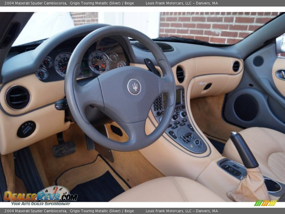 Dashboard of 2004 Maserati Spyder Cambiocorsa Photo #17
