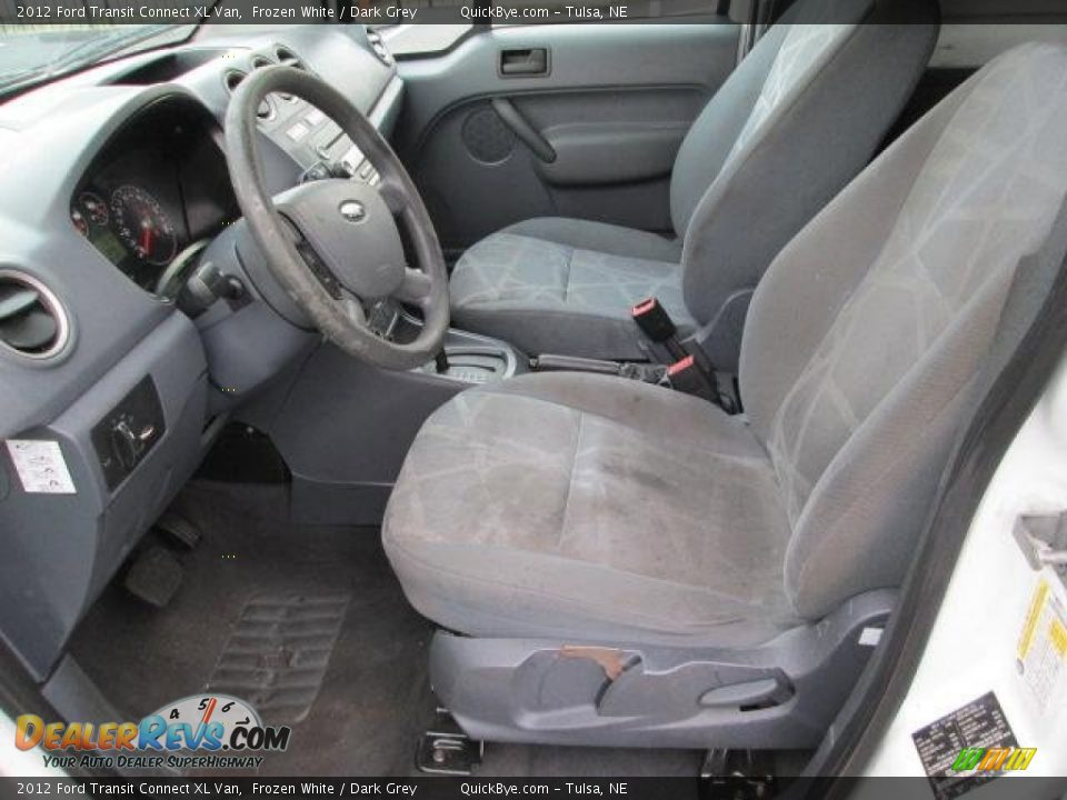 2012 Ford Transit Connect XL Van Frozen White / Dark Grey Photo #3