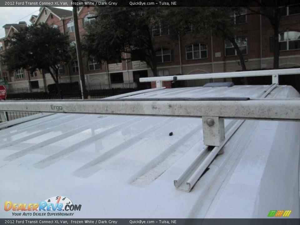 2012 Ford Transit Connect XL Van Frozen White / Dark Grey Photo #11
