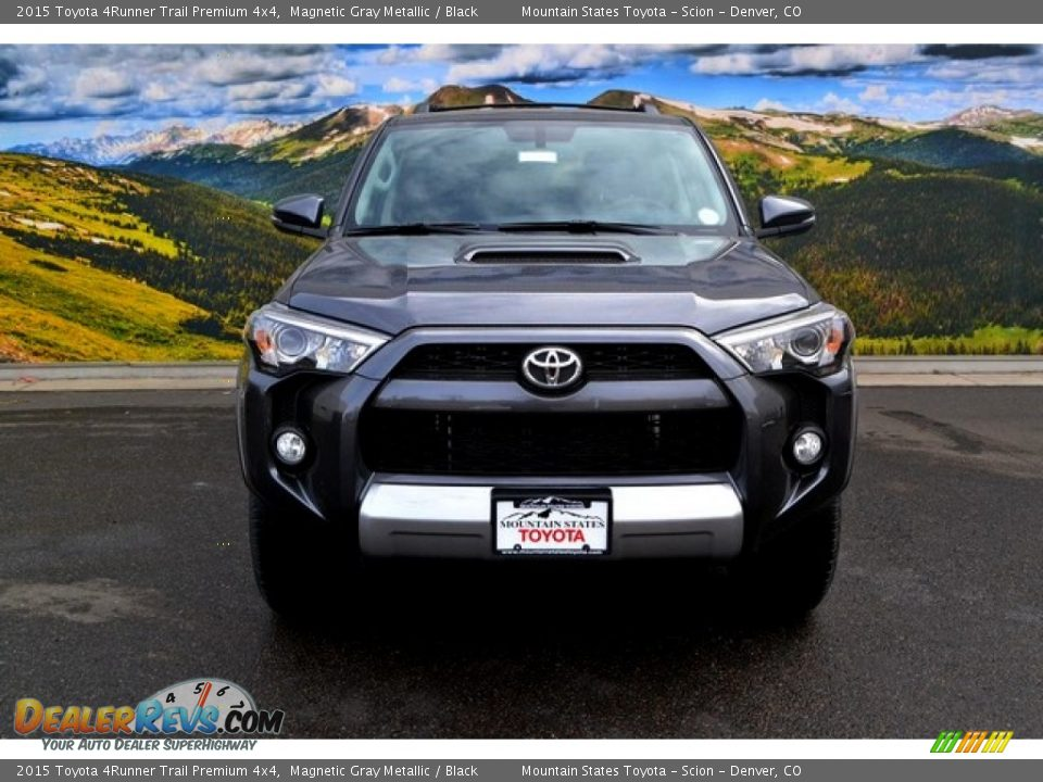 2015 toyota 4runner trail premium 4x4 magnetic gray metallic black photo 2. Black Bedroom Furniture Sets. Home Design Ideas