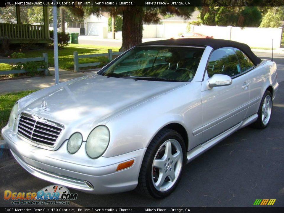 2003 mercedes benz clk 430 cabriolet brilliant silver for Mercedes benz clk 430 repair manual
