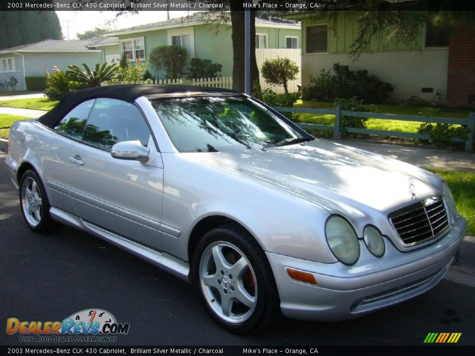 2003 mercedes benz clk 430 cabriolet brilliant silver for 2003 mercedes benz clk