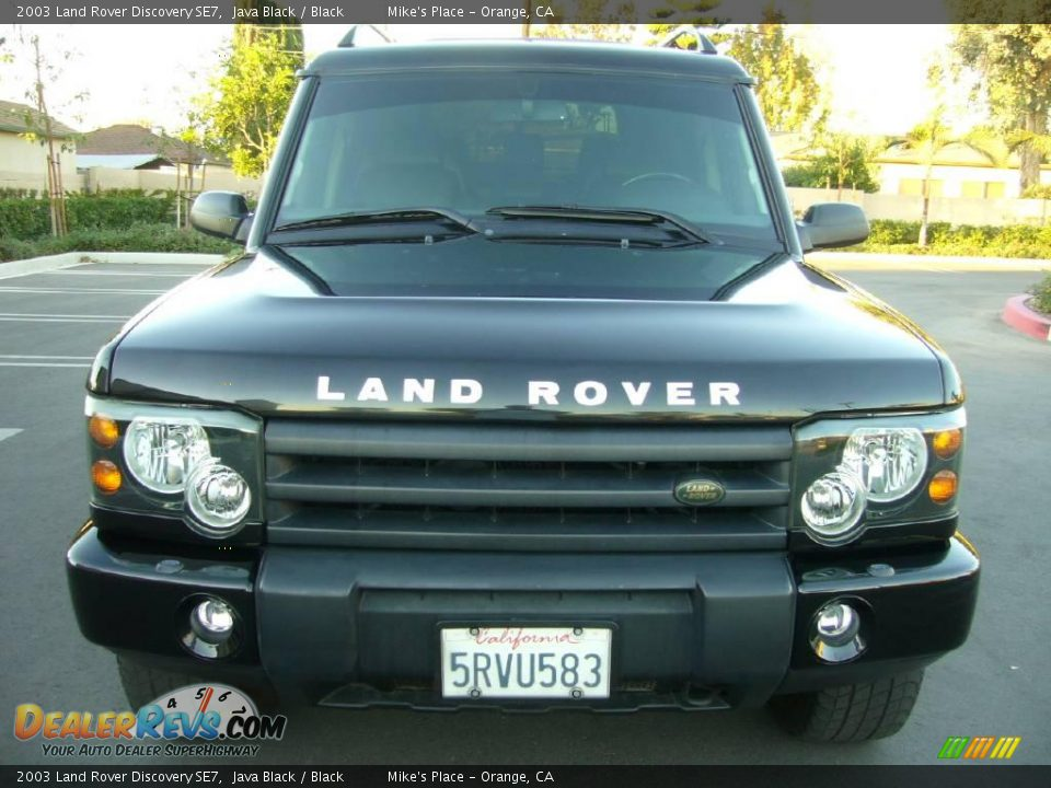 2003 land rover discovery se7 java black black photo 8. Black Bedroom Furniture Sets. Home Design Ideas