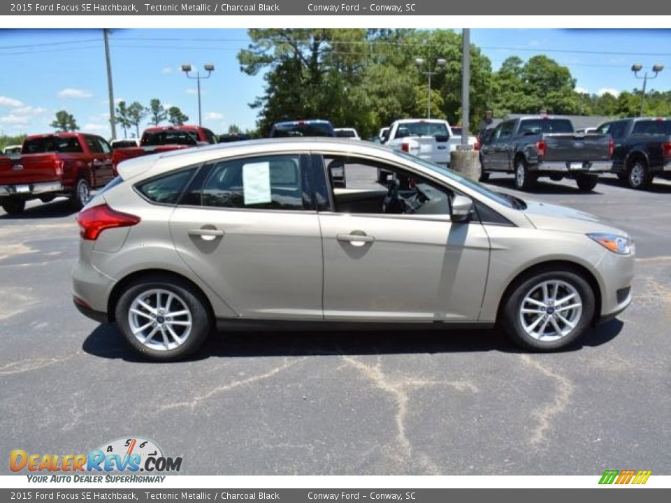 2015 Ford Focus Se Hatchback Tectonic Metallic Charcoal