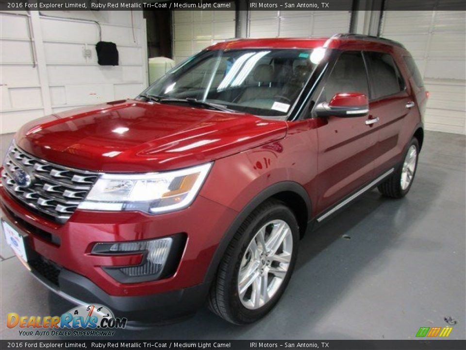 2016 Ford Explorer Limited Ruby Red Metallic Tri Coat