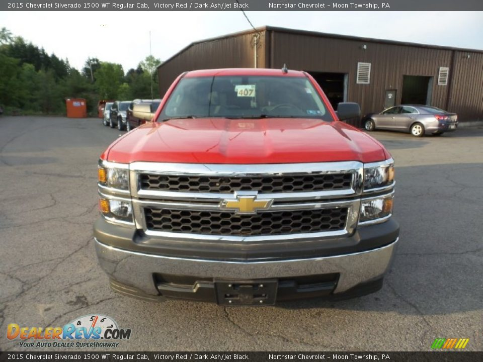 2015 Chevrolet Silverado 1500 WT Regular Cab Victory Red / Dark Ash/Jet Black Photo #2