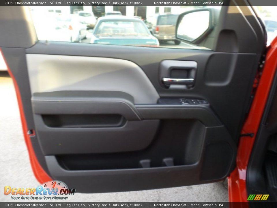 2015 Chevrolet Silverado 1500 WT Regular Cab Victory Red / Dark Ash/Jet Black Photo #13