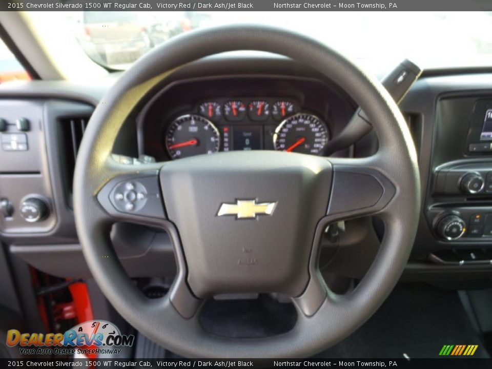 2015 Chevrolet Silverado 1500 WT Regular Cab Victory Red / Dark Ash/Jet Black Photo #14