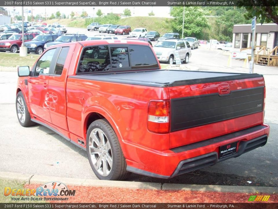 bright red 2007 ford f150 saleen s331 supercharged supercab photo 10. Black Bedroom Furniture Sets. Home Design Ideas