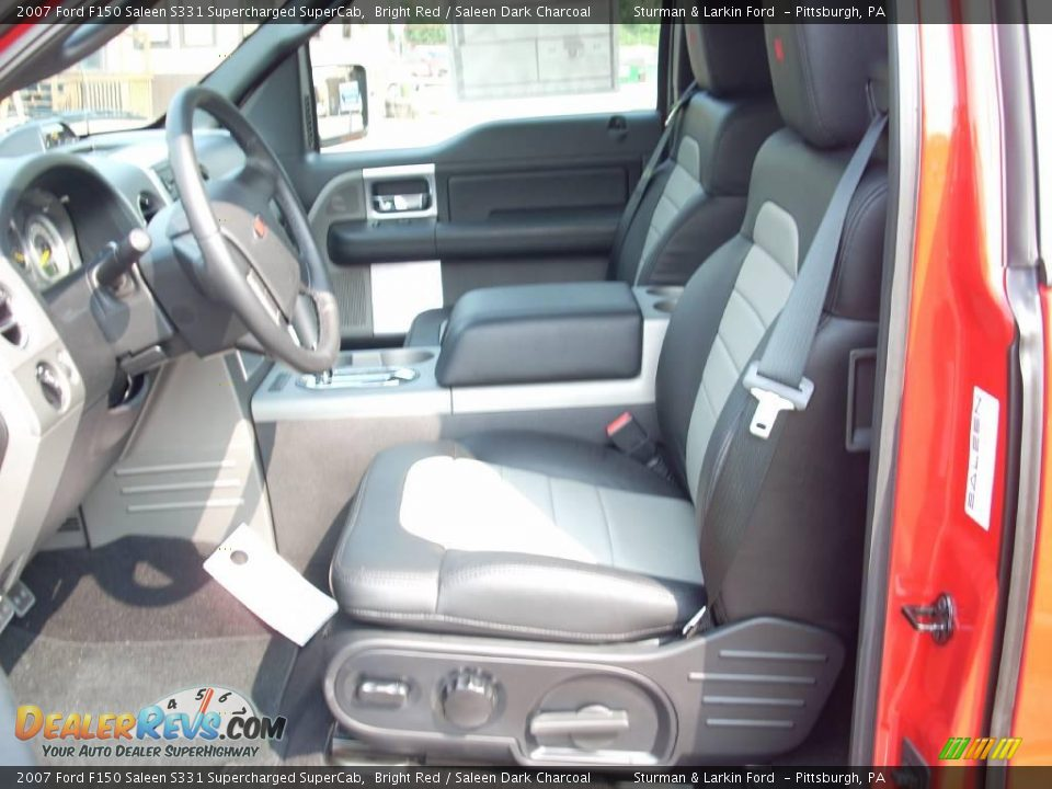 Saleen dark charcoal interior 2007 ford f150 saleen s331 supercharged supercab photo 15