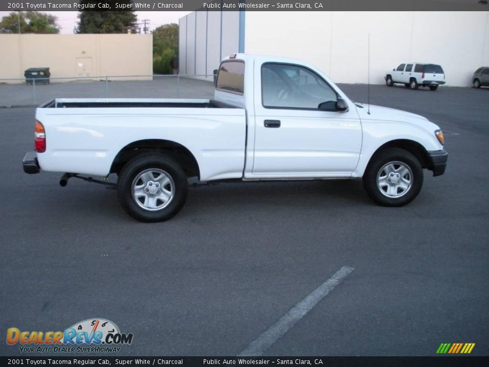2001 toyota tacoma regular cab super white charcoal photo 8. Black Bedroom Furniture Sets. Home Design Ideas