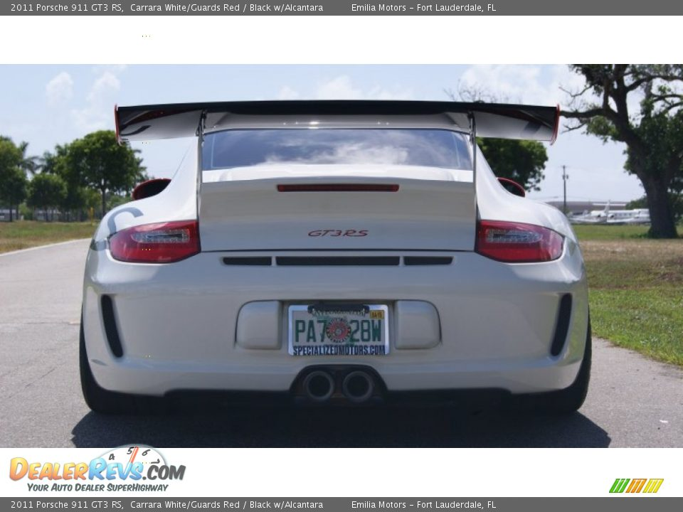 2011 Porsche 911 GT3 RS Carrara White/Guards Red / Black w/Alcantara Photo #7
