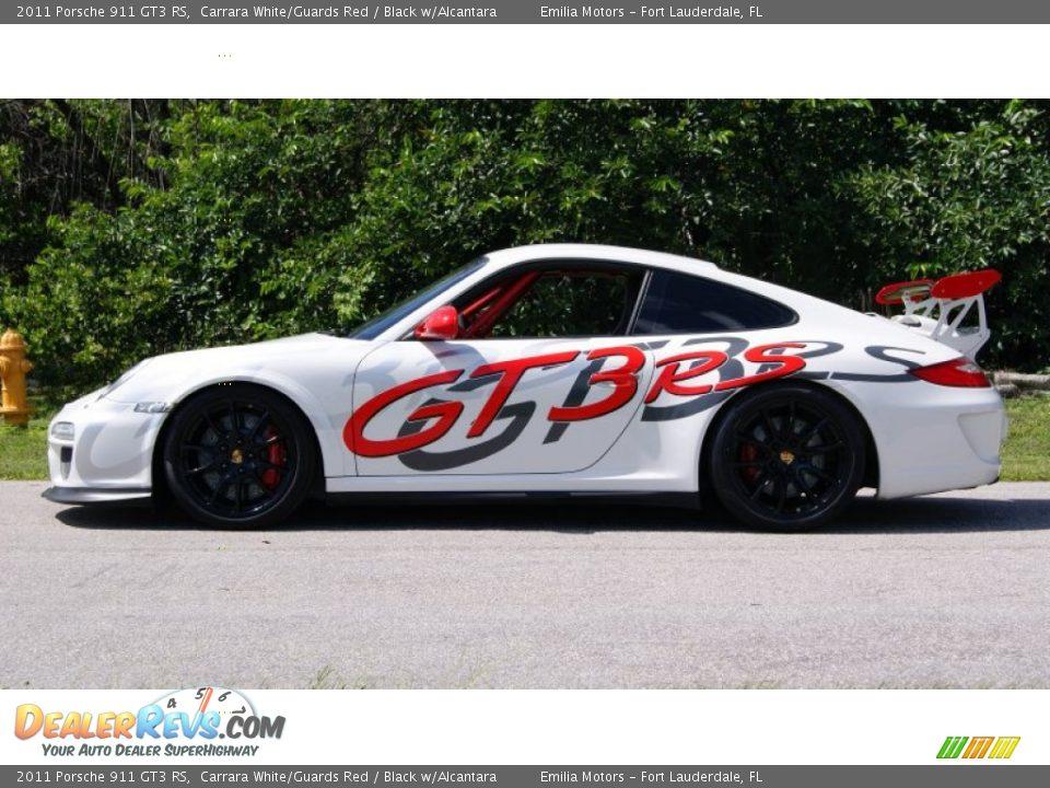 Carrara White/Guards Red 2011 Porsche 911 GT3 RS Photo #10