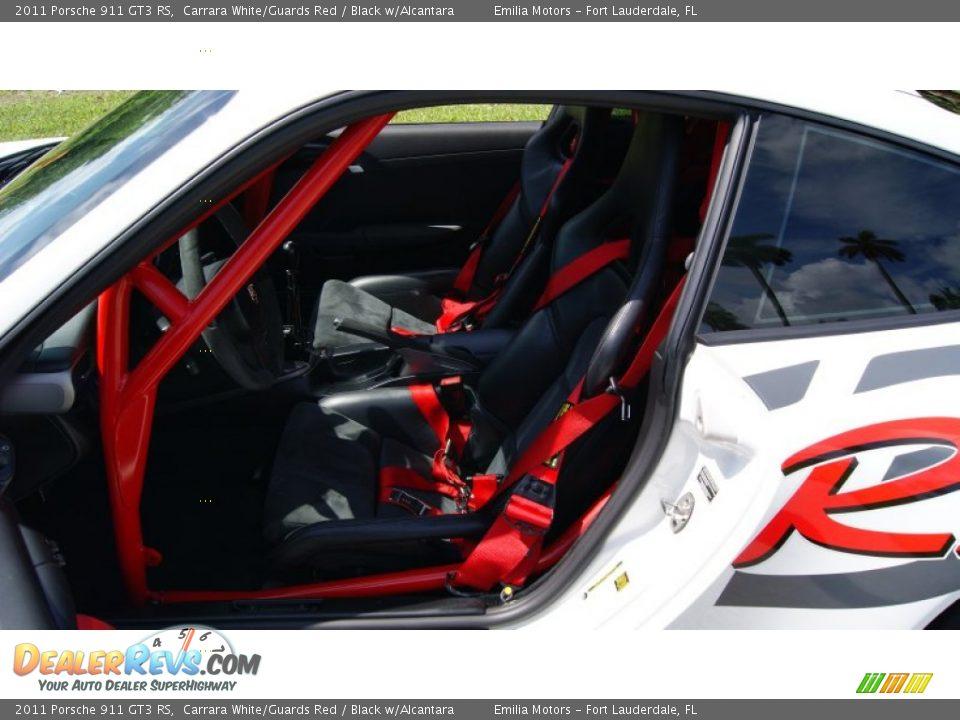 2011 Porsche 911 GT3 RS Carrara White/Guards Red / Black w/Alcantara Photo #30