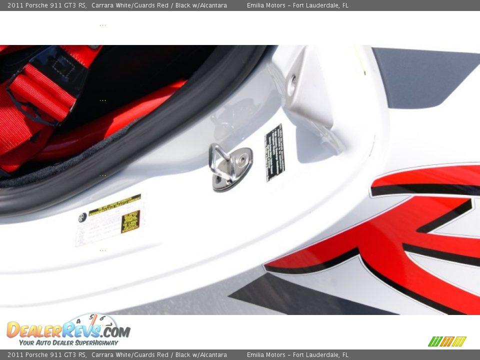2011 Porsche 911 GT3 RS Carrara White/Guards Red / Black w/Alcantara Photo #35