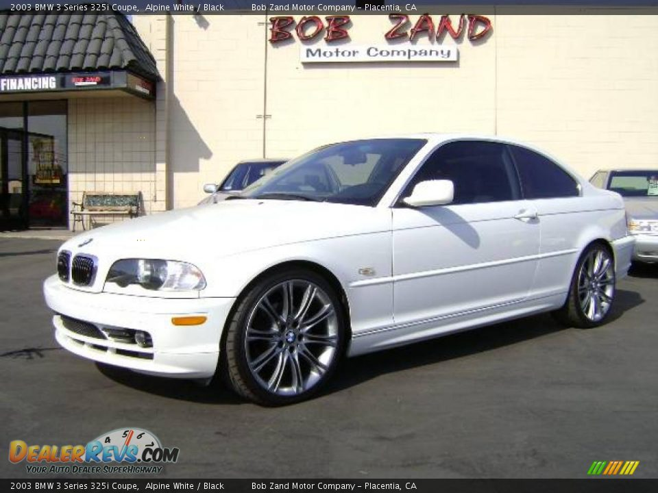 Alpine White BMW 3 Series 325i Coupe Click To Enlarge