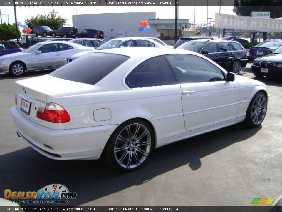 2003 bmw 3 series 325i coupe alpine white black photo 3. Black Bedroom Furniture Sets. Home Design Ideas