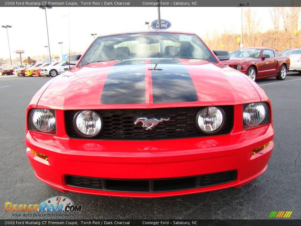 2009 ford mustang gt premium coupe torch red dark charcoal photo 7. Black Bedroom Furniture Sets. Home Design Ideas