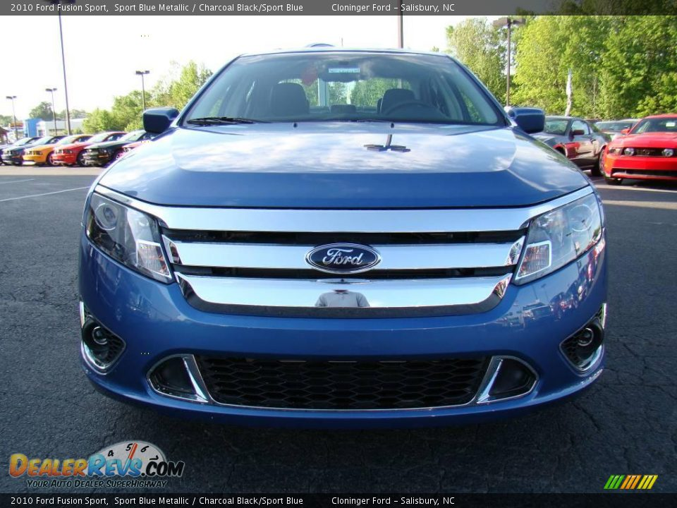 2010 Ford Fusion Sport Sport Blue Metallic Charcoal