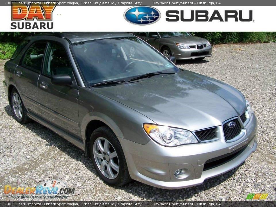 2007 Subaru Impreza Outback Sport Wagon Urban Gray