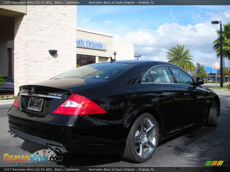 2007 mercedes benz cls 63 amg black cashmere photo 6 for 2007 mercedes benz cls