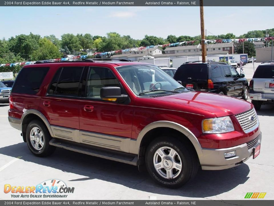 2004 ford expedition eddie bauer 4x4 redfire metallic. Black Bedroom Furniture Sets. Home Design Ideas