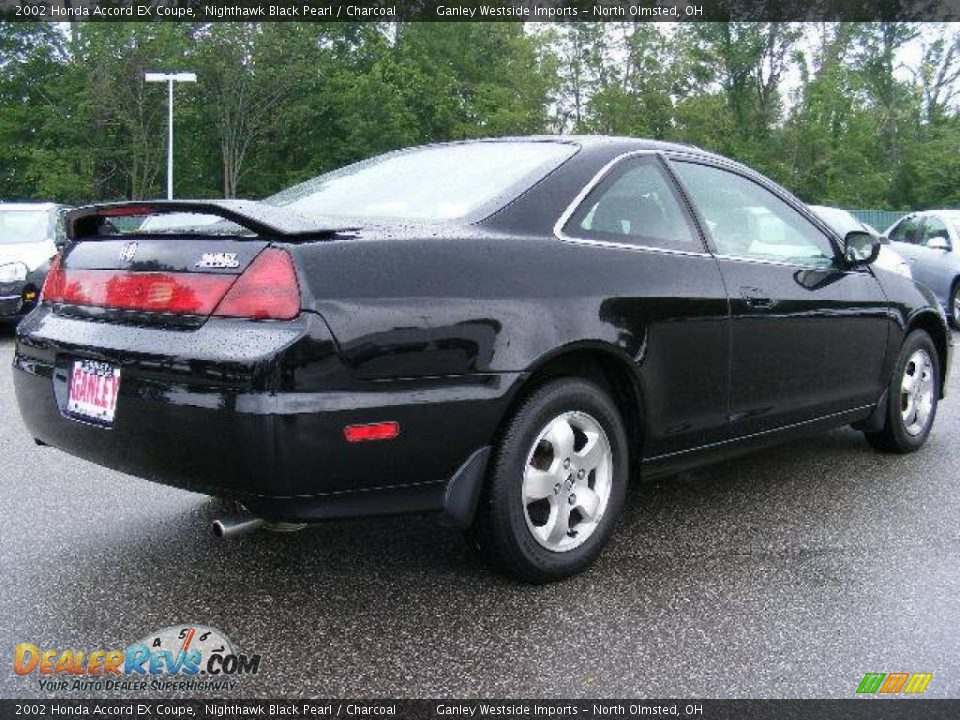 2002 honda accord ex coupe nighthawk black pearl charcoal photo 5. Black Bedroom Furniture Sets. Home Design Ideas