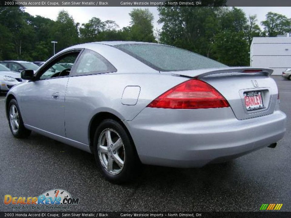 2003 honda accord ex coupe satin silver metallic black. Black Bedroom Furniture Sets. Home Design Ideas