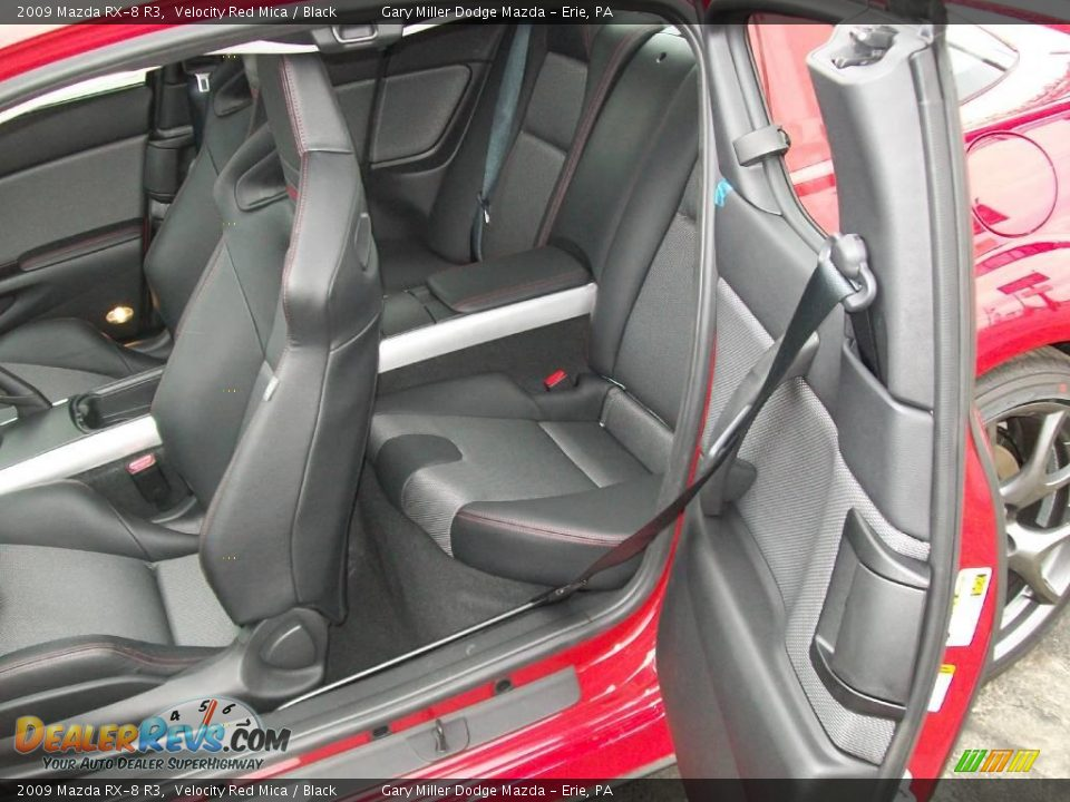 2009 Mazda Rx 8 R3 Velocity Red Mica Black Photo 13 Dealerrevs Com