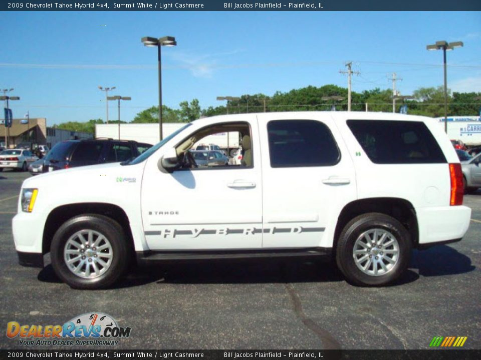 2009 chevrolet tahoe hybrid 4x4 summit white light cashmere photo 1. Black Bedroom Furniture Sets. Home Design Ideas