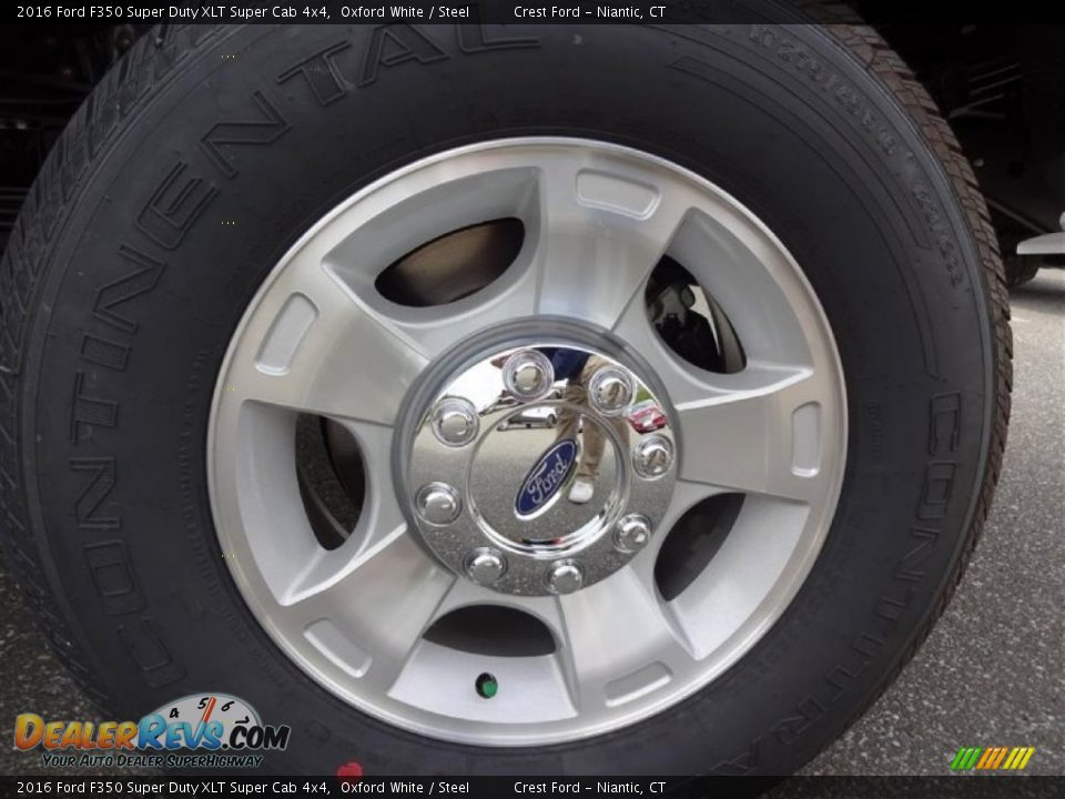 2016 Ford F350 Super Duty XLT Super Cab 4x4 Wheel Photo #10
