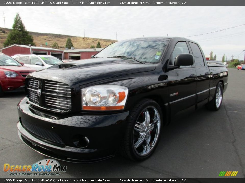 Black 2006 Dodge Ram 1500 SRT-10 Quad Cab Photo #3