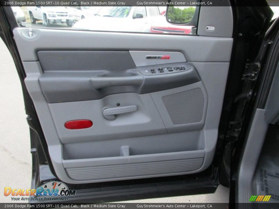 Door Panel of 2006 Dodge Ram 1500 SRT-10 Quad Cab Photo #10