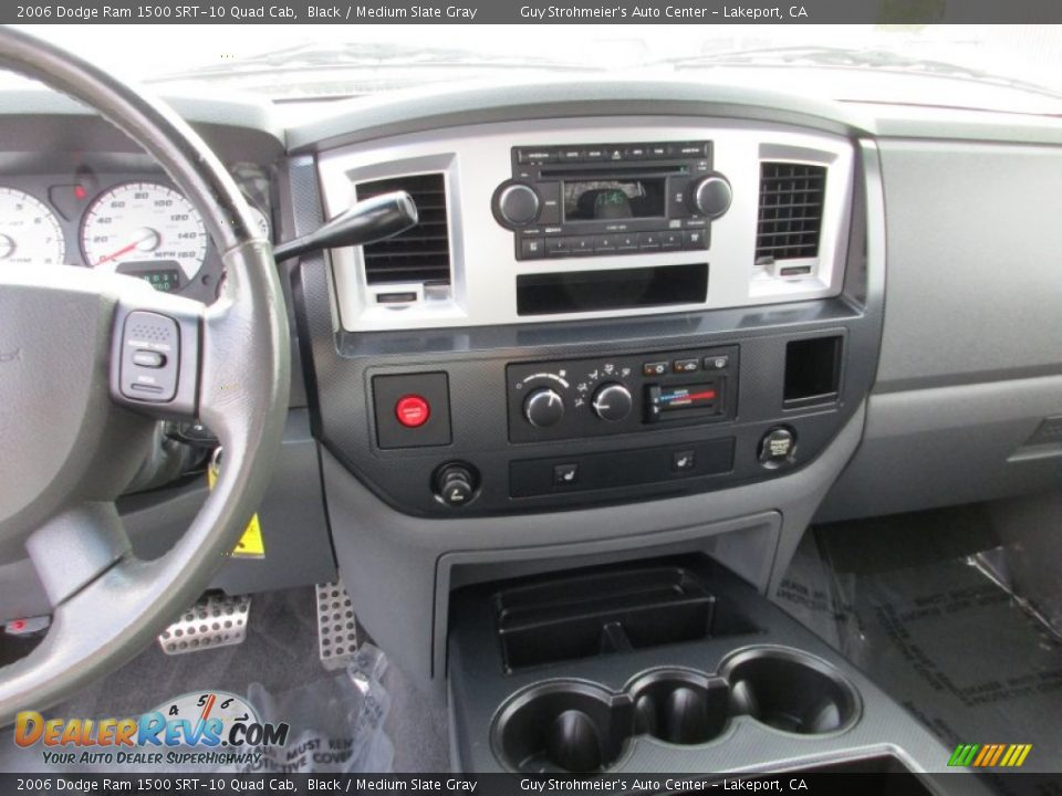 Controls of 2006 Dodge Ram 1500 SRT-10 Quad Cab Photo #15