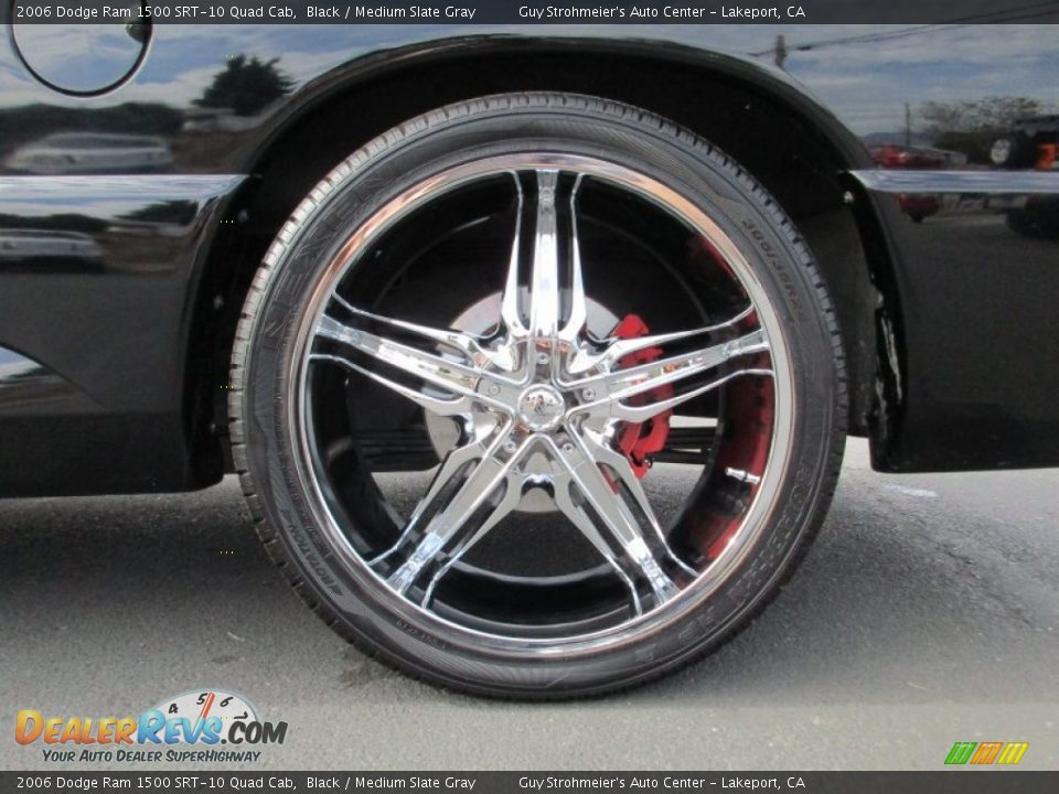Custom Wheels of 2006 Dodge Ram 1500 SRT-10 Quad Cab Photo #25