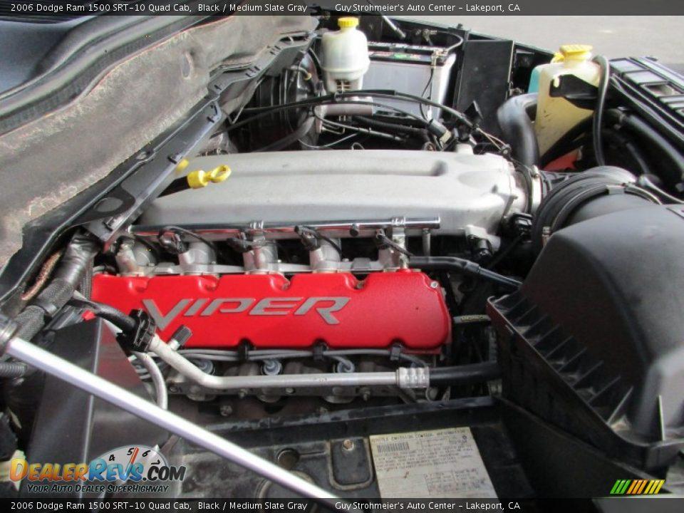 2006 Dodge Ram 1500 SRT-10 Quad Cab 8.3 Liter SRT OHV 20-Valve V10 Engine Photo #29