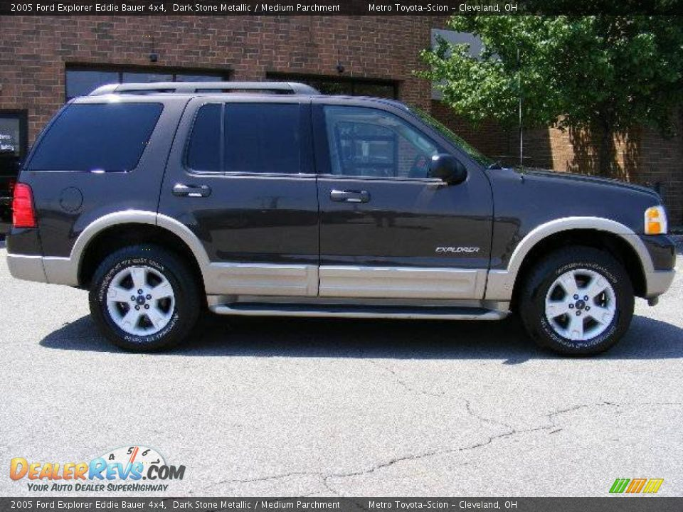 2005 ford explorer eddie bauer 4x4 dark stone metallic medium parchment photo 2. Black Bedroom Furniture Sets. Home Design Ideas
