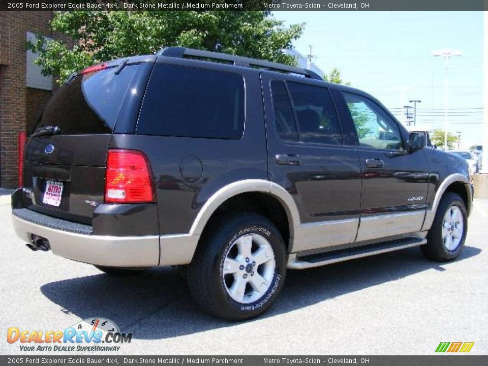 2005 ford explorer eddie bauer 4x4 dark stone metallic medium parchment photo 3. Black Bedroom Furniture Sets. Home Design Ideas