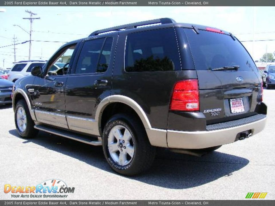 2005 ford explorer eddie bauer 4x4 dark stone metallic medium parchment photo 5. Black Bedroom Furniture Sets. Home Design Ideas