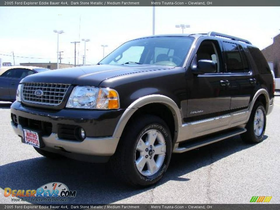 2005 ford explorer eddie bauer 4x4 dark stone metallic medium parchment photo 7. Black Bedroom Furniture Sets. Home Design Ideas