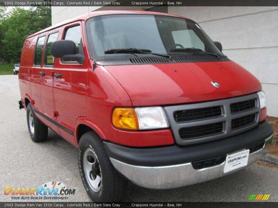 2003 dodge ram van 1500 cargo colorado red dark slate gray photo 1. Black Bedroom Furniture Sets. Home Design Ideas