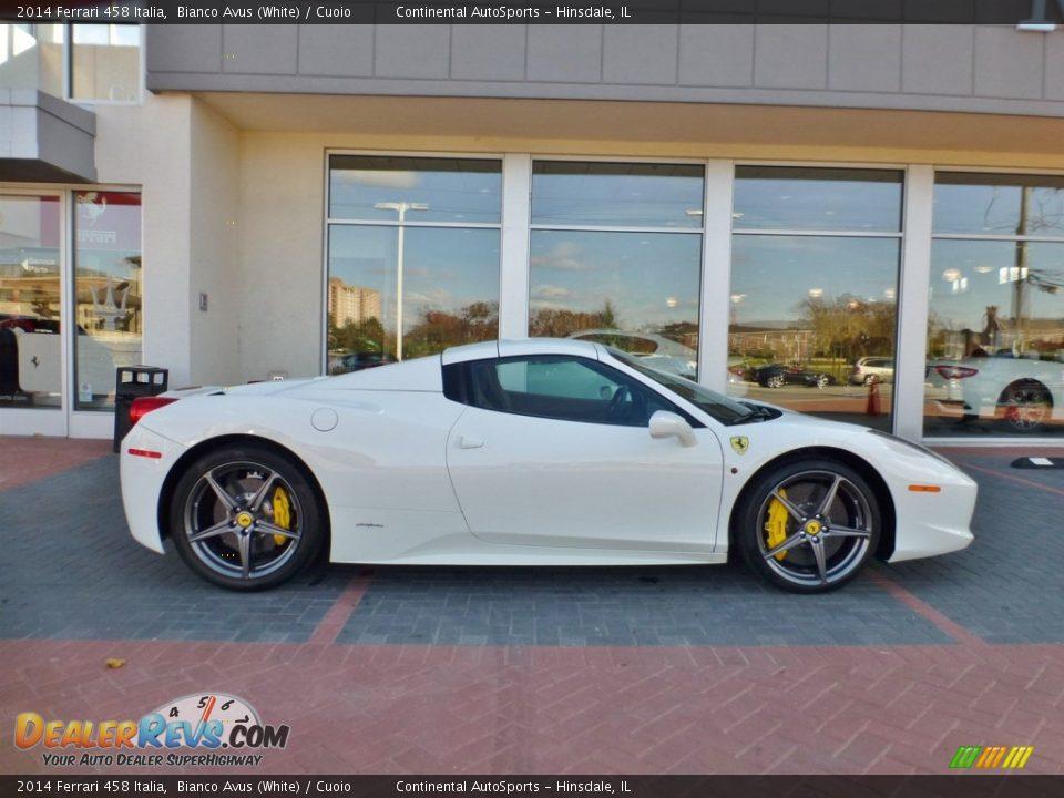 Bianco Avus (White) 2014 Ferrari 458 Italia Photo #7