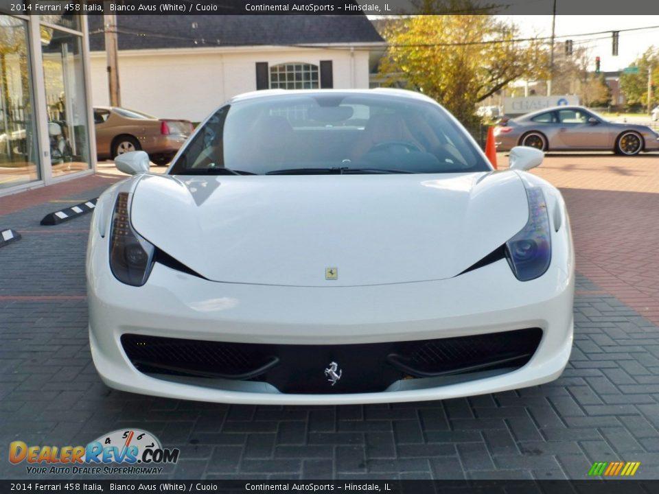 2014 Ferrari 458 Italia Bianco Avus (White) / Cuoio Photo #16