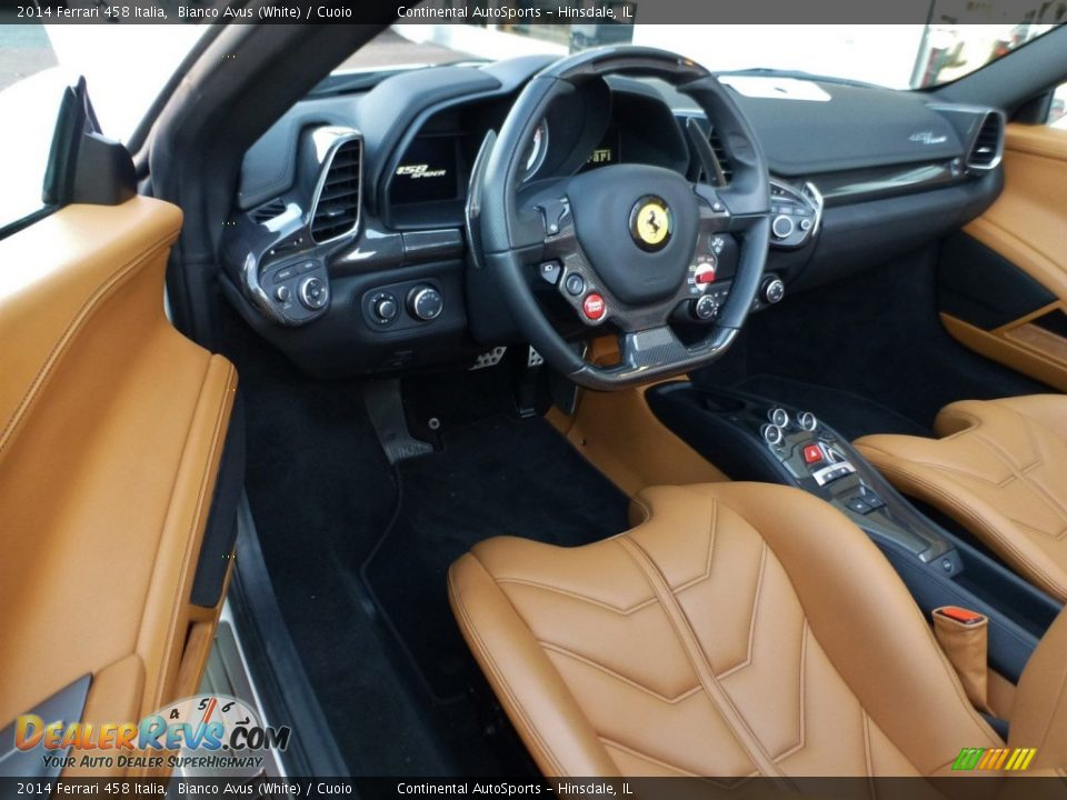 Cuoio Interior - 2014 Ferrari 458 Italia Photo #18