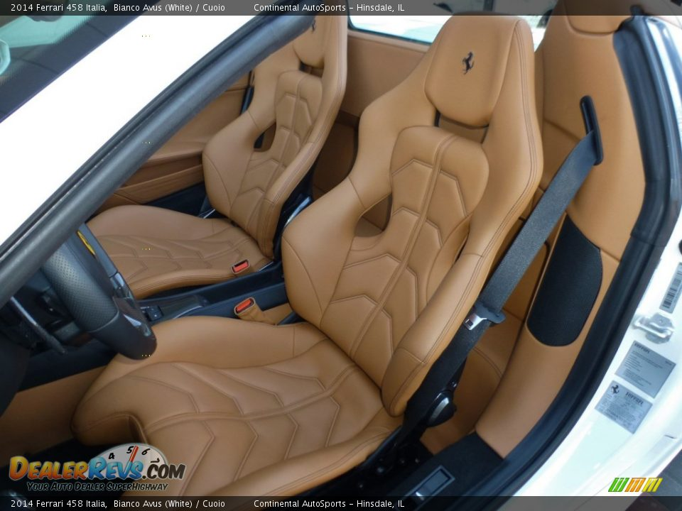 Front Seat of 2014 Ferrari 458 Italia Photo #20